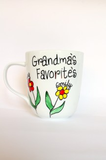 Grandma's Favorites Coffee Mug