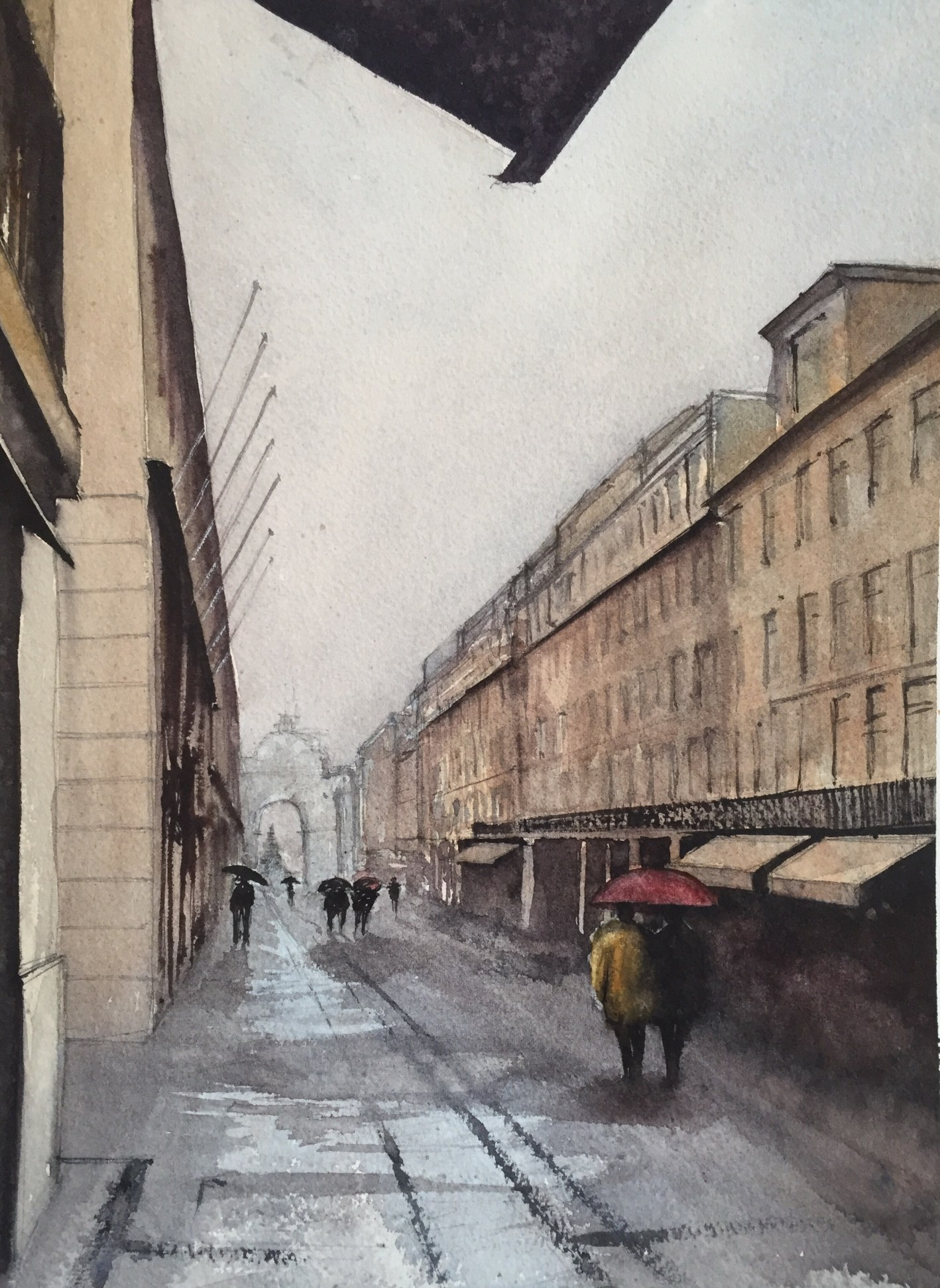 Rainy Day, Lisbon