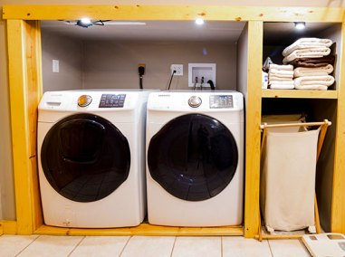 Brush Mountain Lodge Apartment Laundry