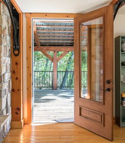 Door to Outdoor Covered Deck