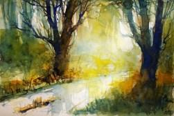 269_2016 Watercolor-Sketches /Marabu Mixed Media 21,0 x 14,8 cm / 8.3 x 5.8 in / Lukas Aquarell 1862