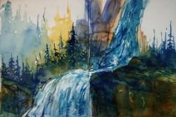 419_2016 Watercolor-Sketches /Daler-Rowney Graduate Sketchbook, 2x 21,0 x 14,9 cm / 8.3 x 5.8 in / Lukas Aquarell 1862