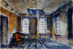 425_2016 Watercolor-Sketches /Daler-Rowney Graduate Sketchbook, 2x 21,0 x 14,9 cm / 8.3 x 5.8 in / Lukas Aquarell 1862