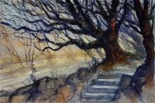 017_2017 Watercolor / Folia – ca. 42,2 x 29,4 cm/ Lukas Aquarell 1862
