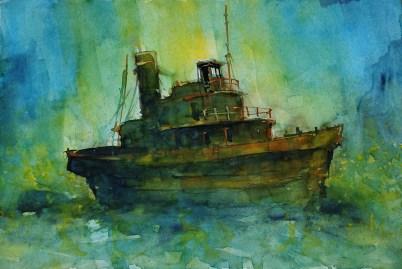 106_2017 Watercolor-Sketches /Daler-Rowney Graduate Sketchbook 21,0 x 29,7 cm / 8.3 x 11.7 in / Lukas Aquarell 1862
