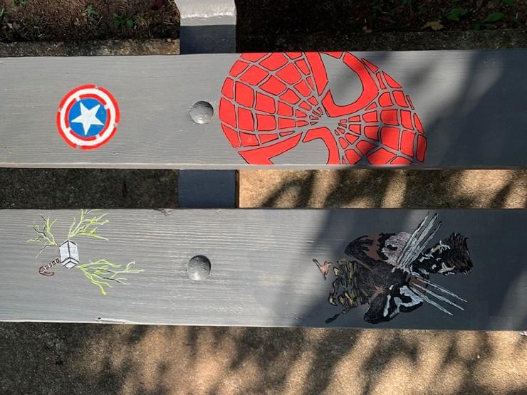 Captain America, Spiderman, Thor, Wolverine