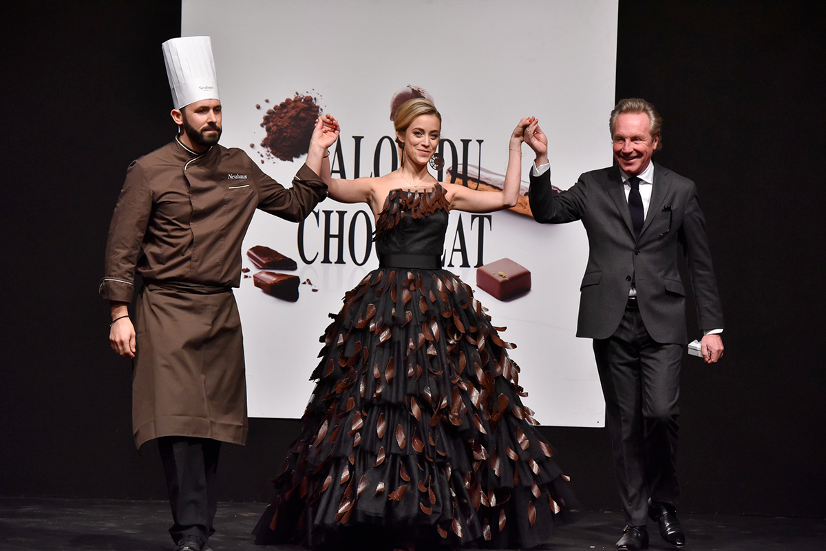 The Chocolate Fashion Show – Salon du Chocolat Brussels