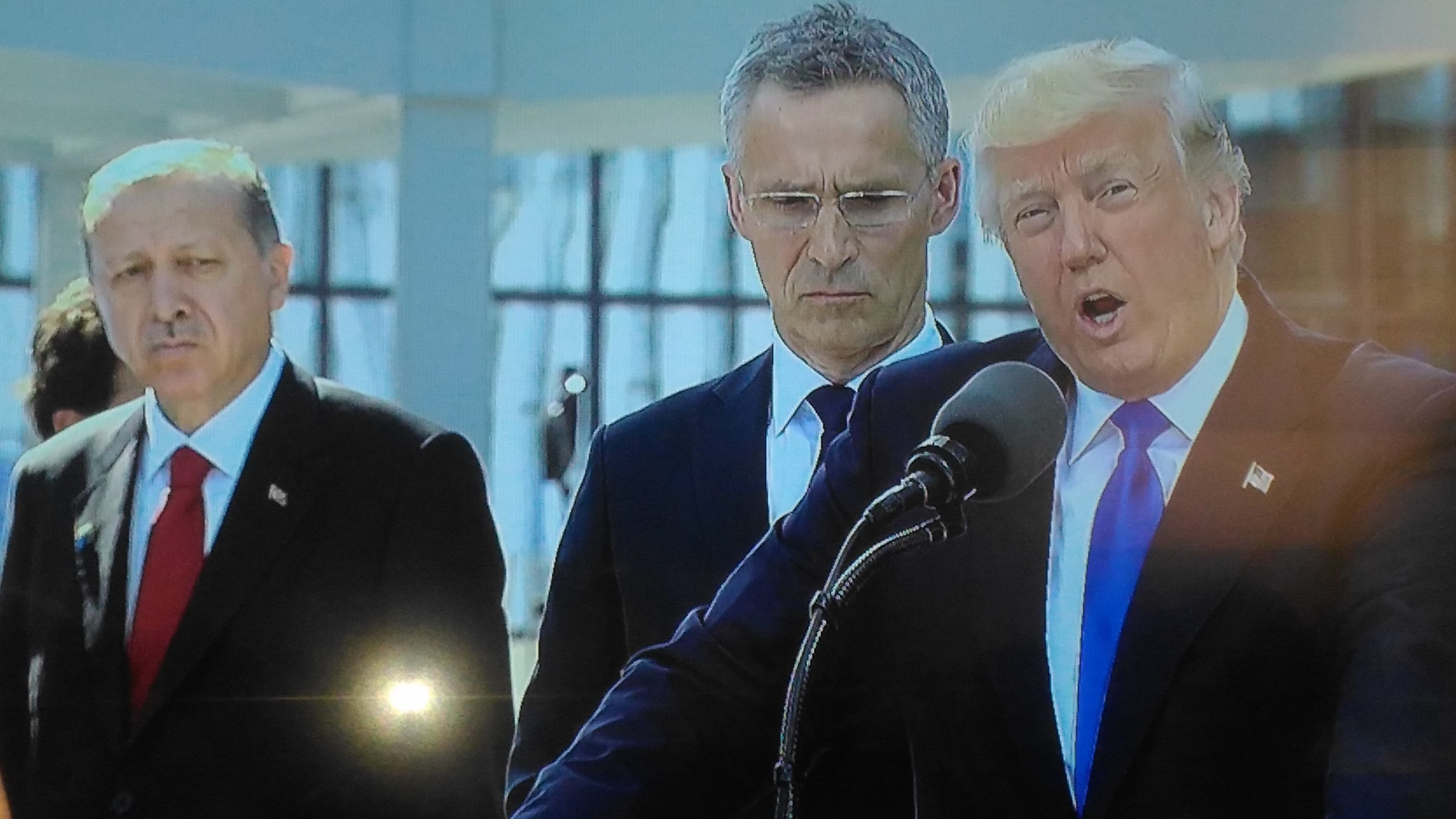 Trump insists on fair burden-sharing in NATO