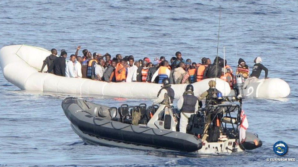 EU operation Sophia in Mediterranean extended