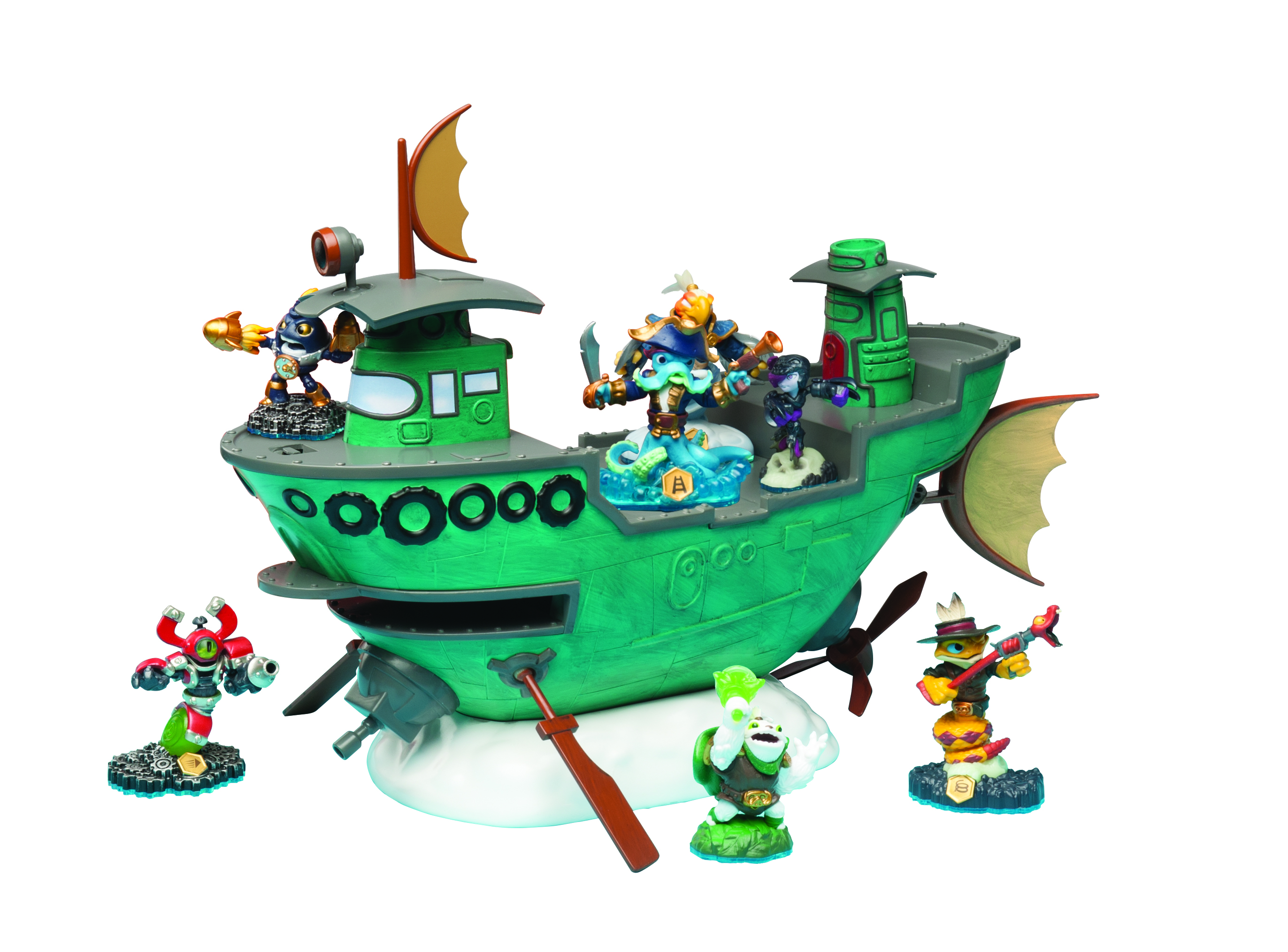 Skylanders SWAP Force FunPlay HideAway Flynns Ship By