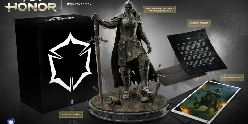 TriForce To Produce For Honor Apollyon Edition Brutal Gamer