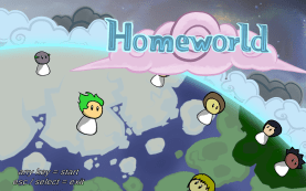 Title Screen of Homeworld.