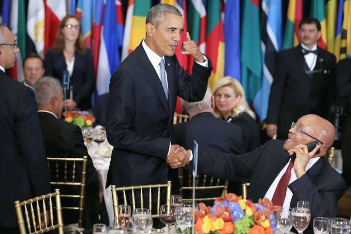 Zuma-Obama