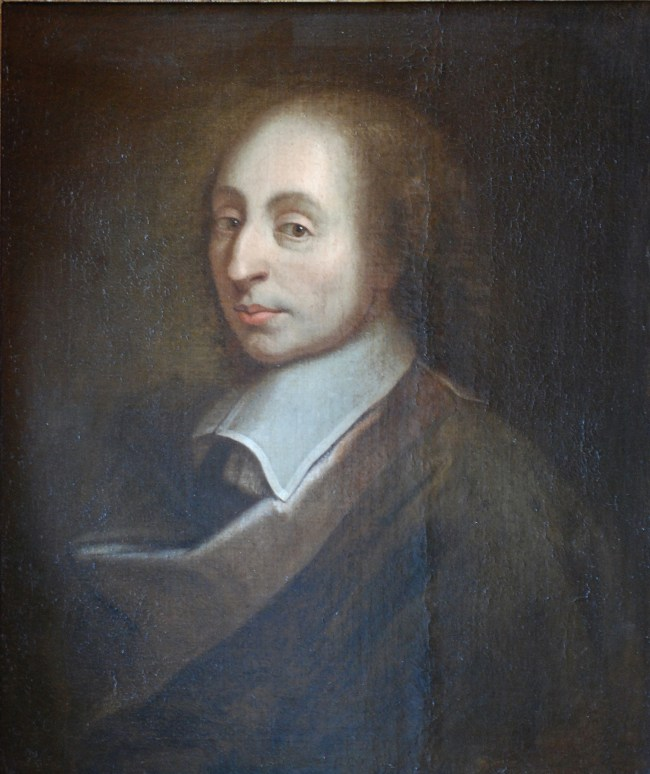 Artiste rendering of Blaise Pascal. (c) Wikipedia