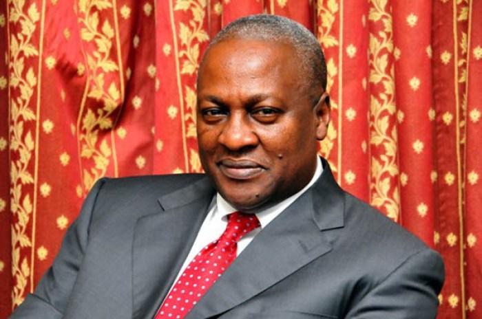 Ghana's President- John Dramani Mahama