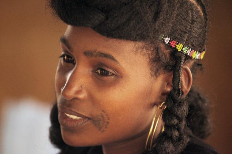 Image File: Fulani Woman from Niger