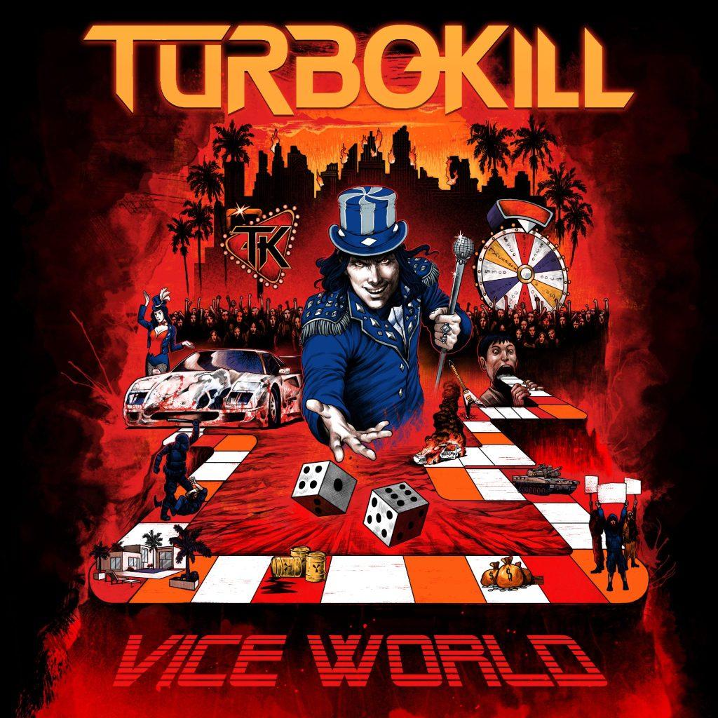 Turbokill - Vice World Album Art