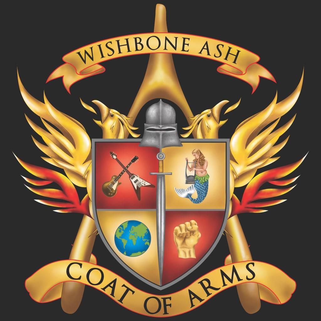 Wishbone Ash - Coat of Arms Cover Art