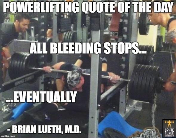 All Bleeding Stops
