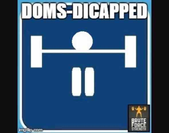 DOMS-dicapped placard 4