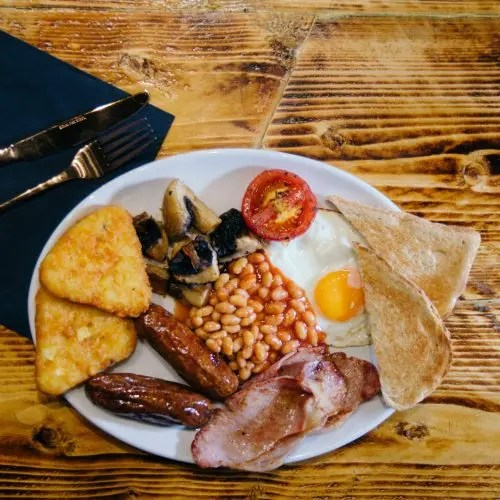 Cooked breakfast Honiton