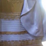 「白と金」か「青と黒」か