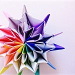 折り紙で花火 – fireworks