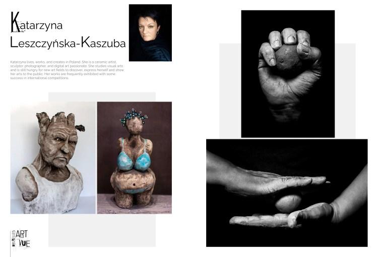 Katarzyna Leszczynska Kaszuba in Bruxelles Art Vue