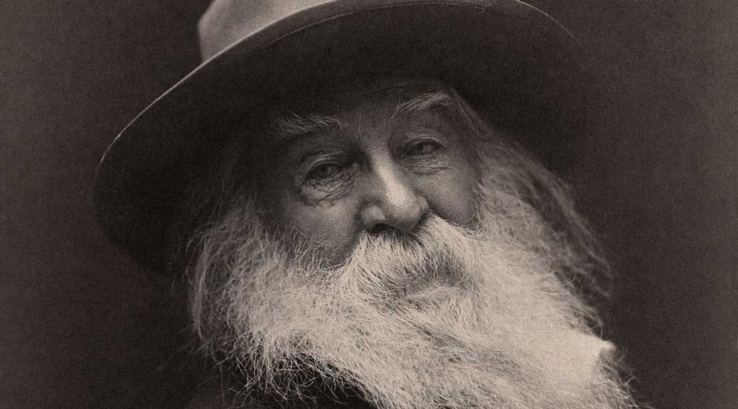 Walt Whitman par George Collins Cox (1887)
