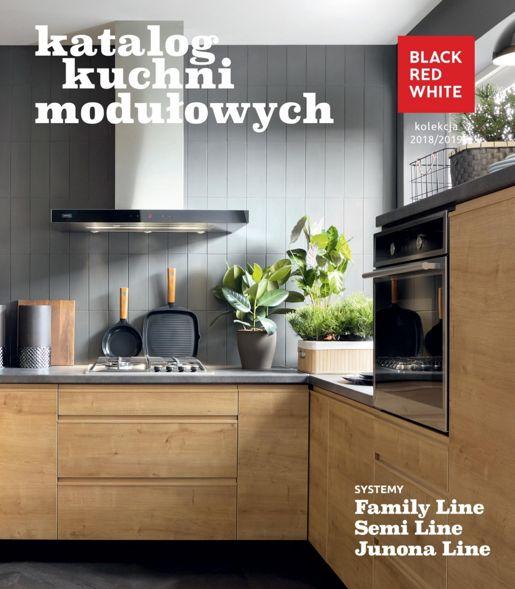 Black Red White Katalog Kuchni Modułowych Od 107 Lipca