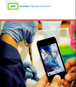 Horizon Report cover, the 2012 edition.