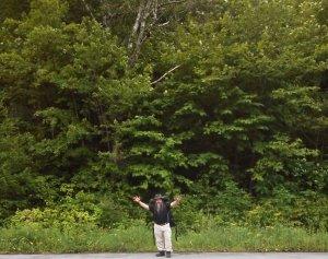 Bryan heads into the wild