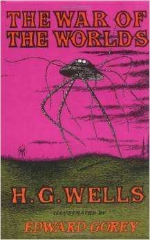 War of the Worlds, illustrated by Edward Gorey