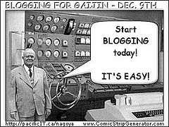start blogging! by Robert Sanzalone