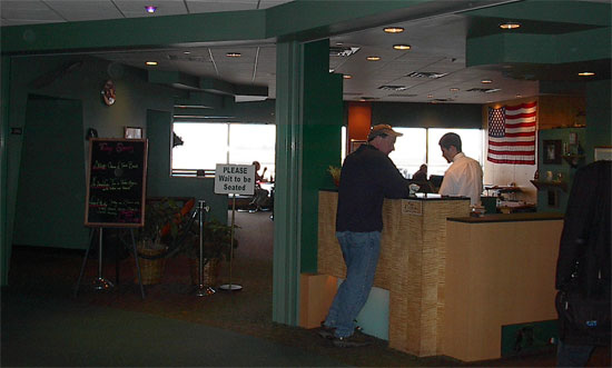 The late, lamented One Flight Up, a former jewel in the Burlington Airport's crown.