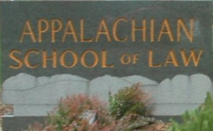 Appalachian School of Law_Sign_in_Front