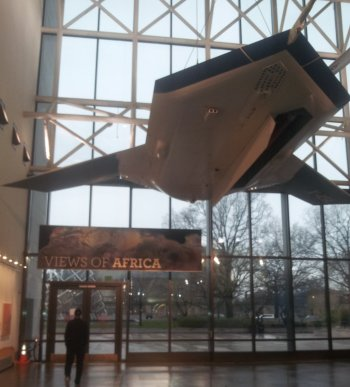 Air and Space Museum, the drone exhibit
