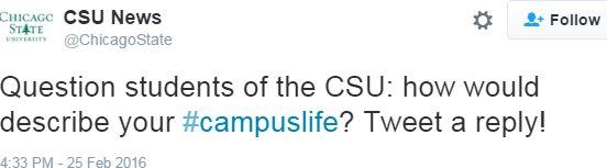 sad CSU tweet