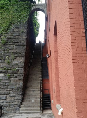 Georgetown stairs