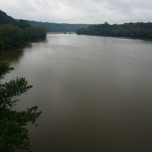 Potomac River from Key bridge