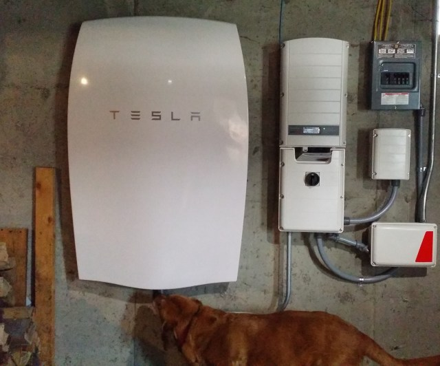 PowerWall installed with Hestia