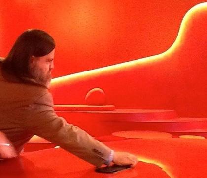Bryan red room