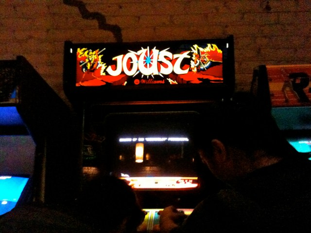 Joust game, photo by Emma Story