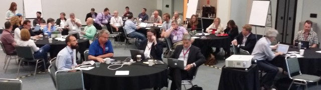 part of the preconference seminar crowd at EDUCAUSE 2016