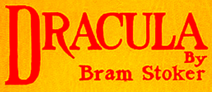 Dracula title image