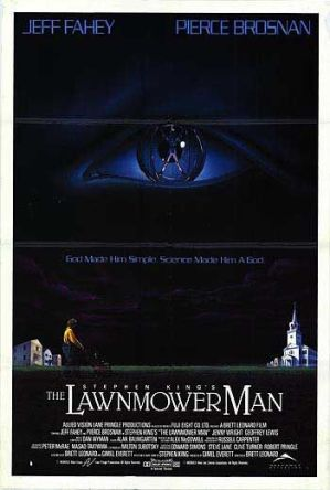 Lawnmower Man poster
