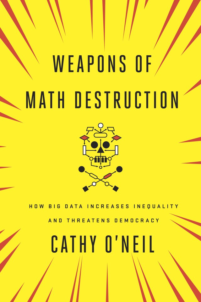 Weapons of Math Destruction, cover