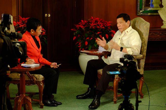 Duterte and Ressa