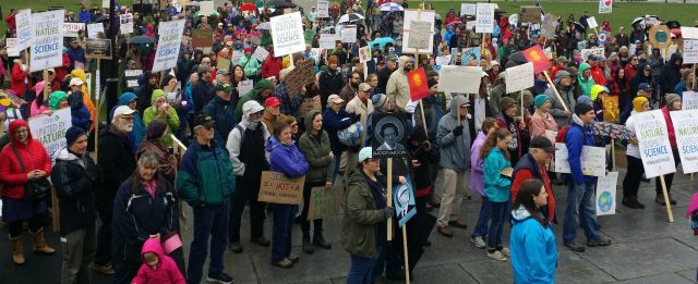 science march Montpelier