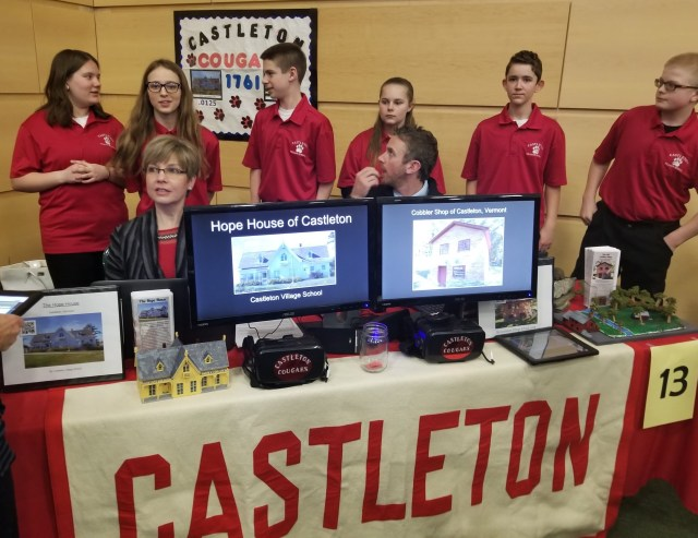 3d Vermont 2018_Castleton team display